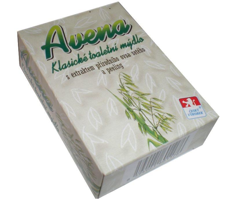 Avena klasické toaletní mýdlo s extraktem přírodního ovsa setého a peeling -: 100g For Merco