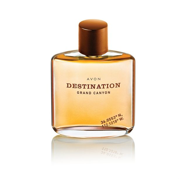 Destination Grand Canyon EDT 75ml se směsí tónů osvěžujícího grapefruitu a mandarinky Avon