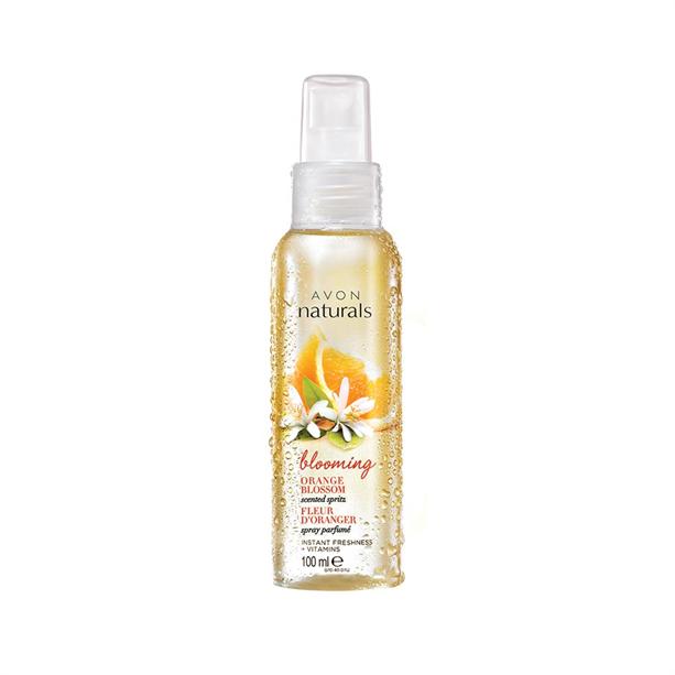 Avon Naturals tělový sprej květ pomerančovníku 100ml