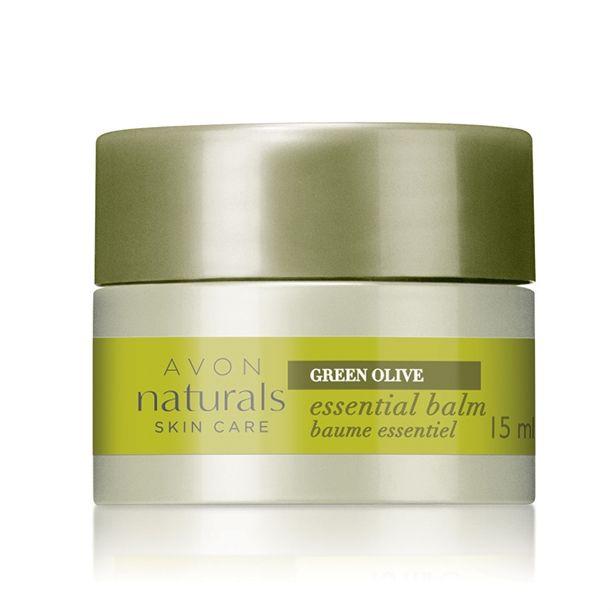 Balzám s výtažky z oliv Naturals (Essential Balm) -: 15 ml Avon