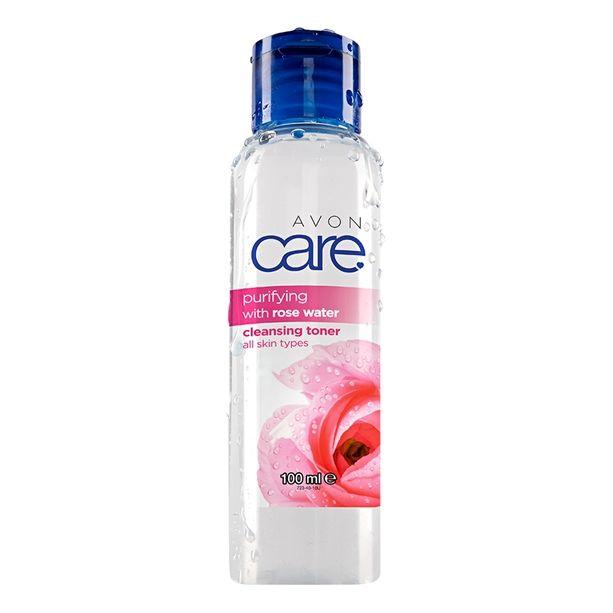 Čistící tonikum s růžovou vodou 100ml pro různé typy pleti Avon