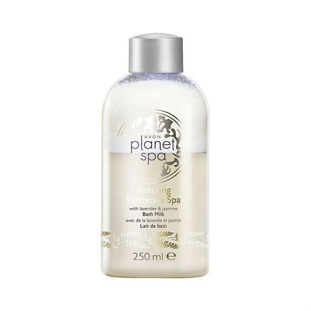 Avon Planet Spa Hydratační mléko do koupele s levandulí a jasmínem 250ml