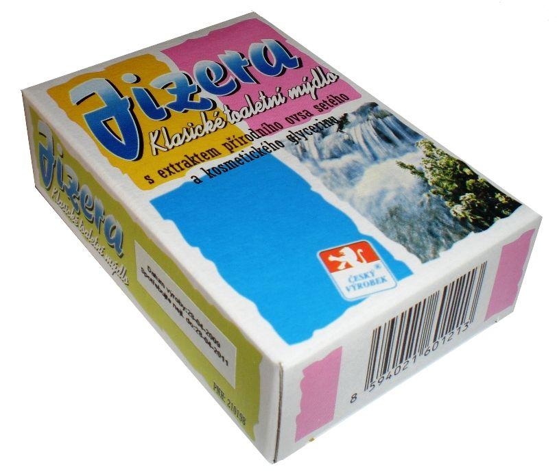 Jizera toaletní mýdlo s extraktem přírodního ovsa setého -: 100g For Merco