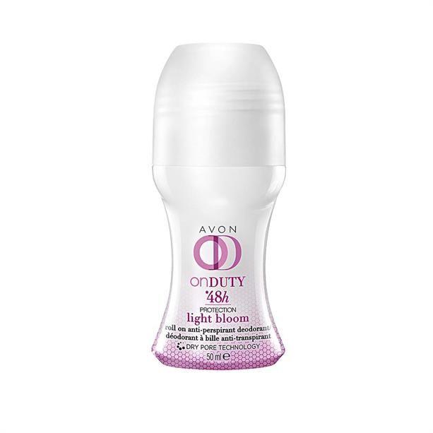 Kuličkový antiperspirant Light Bloom for women 50ml Avon