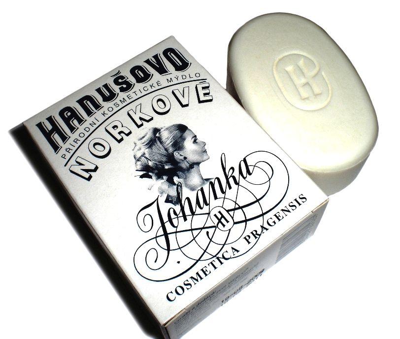 Hanušovo mýdlo Norkové Johanka 100g - přírodní For Merco