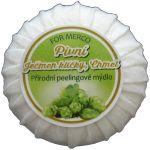 Přírodní kosmetické peelingové mýdlo pivní 100g