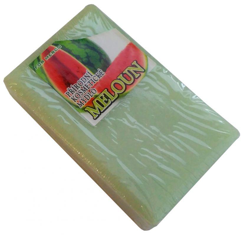 Přírodní kosmetické mýdlo MELOUN -: 90g For Merco