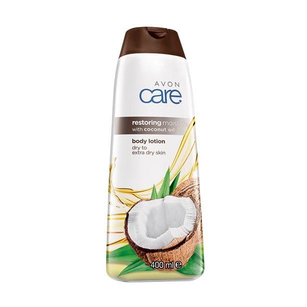 Avon Care Regenerační hydratační tělové mléko s kokosovým olejem 400ml