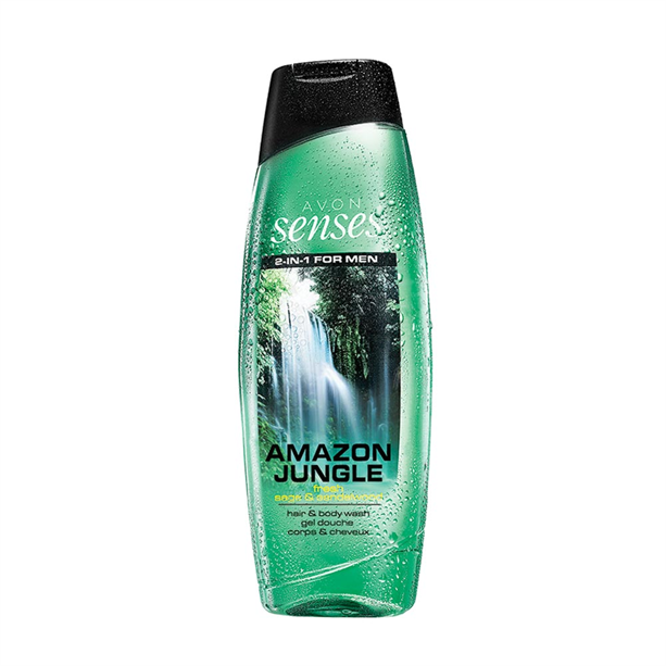 Senses Amazon Jungle sprchový gel -: 500 ml Avon