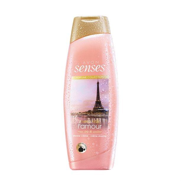 Senses Romantic Lamour sprchový gel -: 500 ml Avon