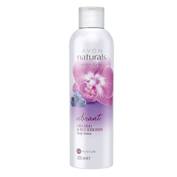 Avon Naturals Tělové mléko s orchidejí a borůvkou 200ml