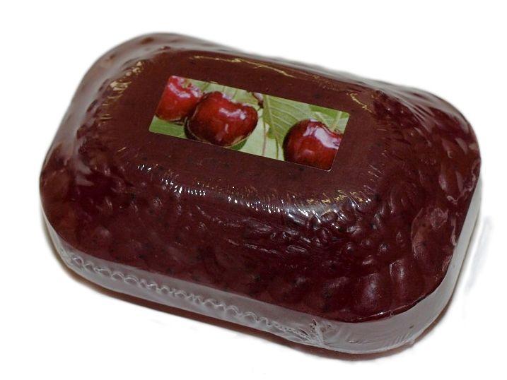 Přírodní kosmetické mýdlo glycerinové TŘEŠEŇ 110g s makadamovým olejem For Merco