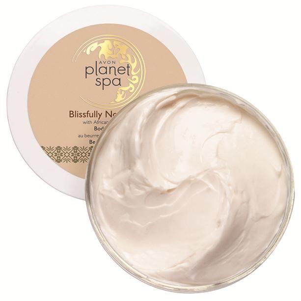 Vyživující maska na vlasy PSPA s africkým bambuckým máslem pro suché a poškozené vlasy Avon