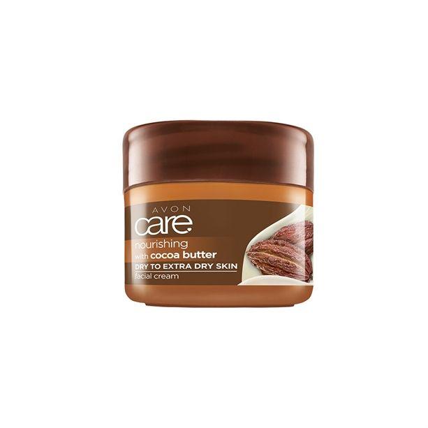 Pleťový krém s kakaovým máslem Avon Care 100g - Obnovující a vyživující