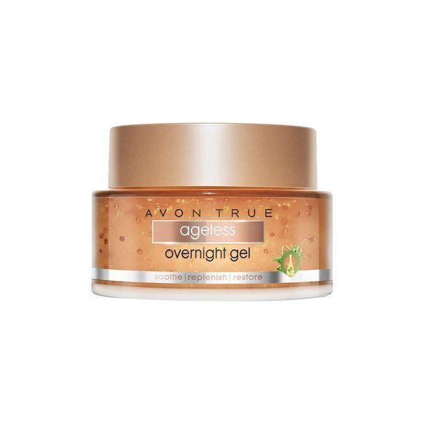 Avon True Nutra Effects Noční gelový krém s antioxidanty 50ml - noční gelová maska