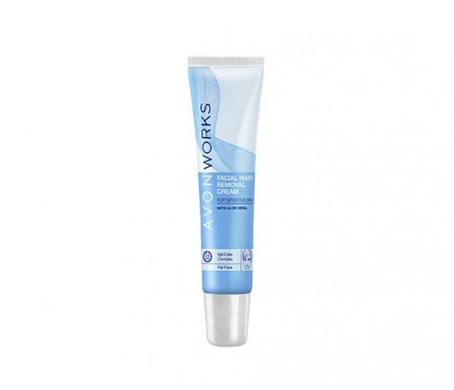Skin so Soft Depilační krém na obličej - : 15ml Avon