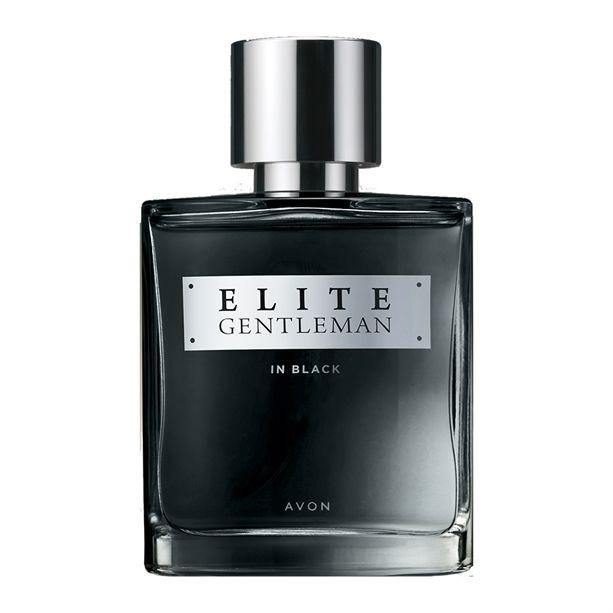 Elite Gentleman In Black EDP for him 75ml - parfémovaná voda pánská Avon