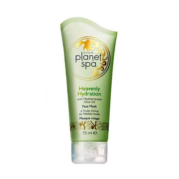 Hydratační pleťová maska s olivovým olejem Planet Spa -: 75 ml Avon