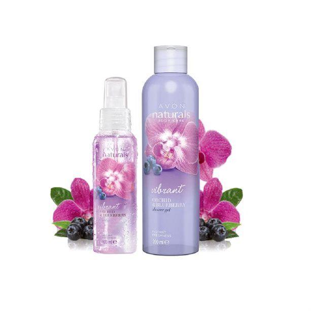 Avon Sada s orchidejí a borůvkou / 2ks
