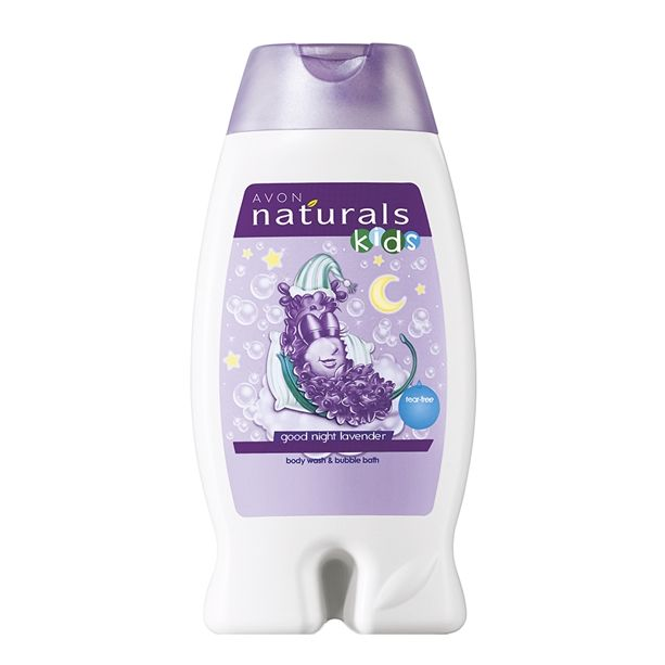 Sprchový gel a pěna do koupele s levandulí 2 v 1 250ml Avon