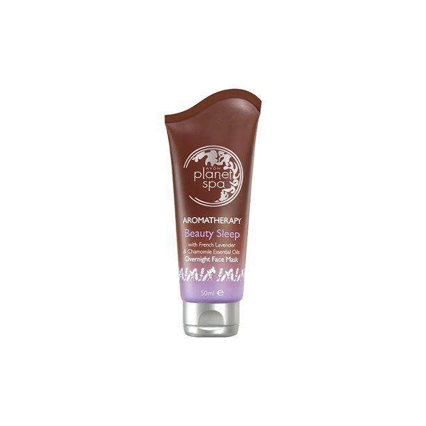 Planet Spa Zklidňující noční pleťová maska s levandulí a heřmánkem -: 50 ml Avon
