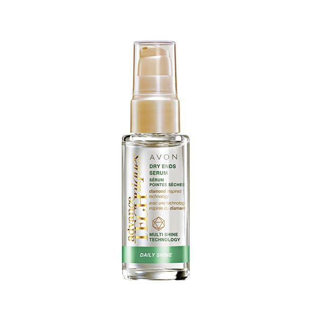 Advance Techniques Daily Shine Sérum na suché konečky vlasů -: 30 ml Avon