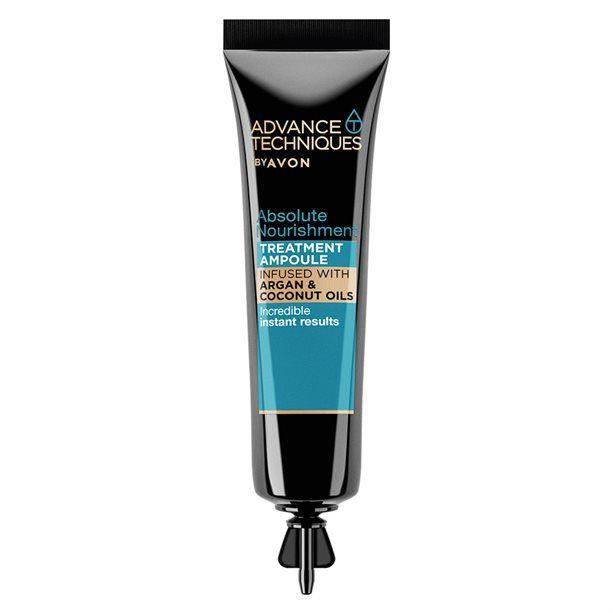 Advance Techniques Vyživující ampulka na vlasy s arganovým a kokosovým olejem -: 15 ml Avon