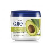 Avon Care Vyživující krém na obličej, ruce a tělo s avokádem 400ml - hydratační