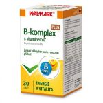 B-komplex PLUS s vitaminem C tbl.30