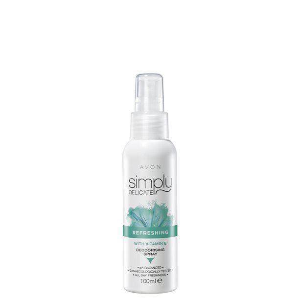 Dámský intimní deodorační sprej s vitaminem E - : 100ml Avon