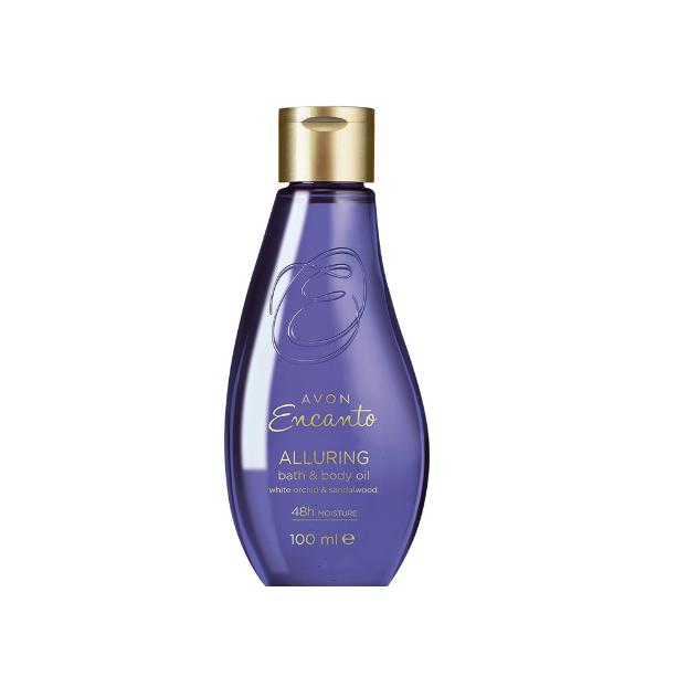 Encanto Alluring Hydratační olej na tělo a do koupele -: 100 ml Avon