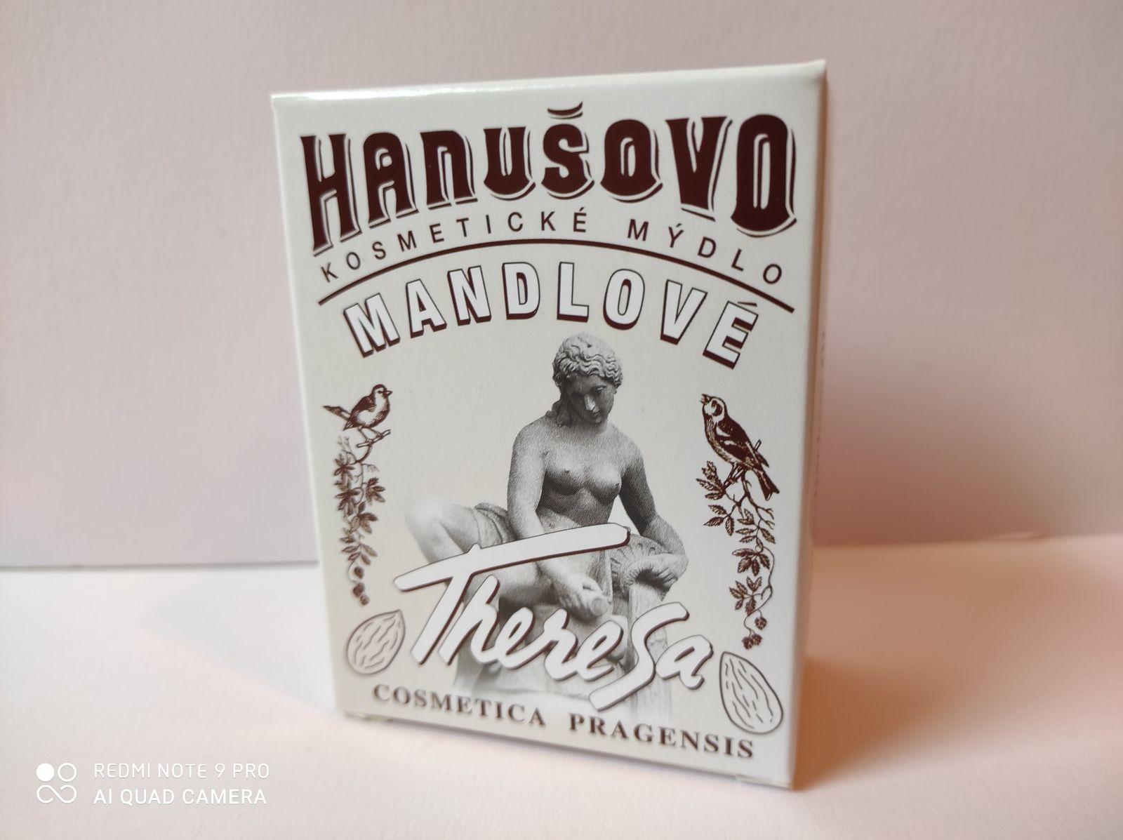 Hanušovo kosmetické mýdlo Mandlové -: 100g Formerco