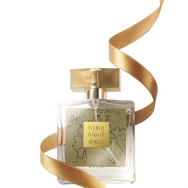 Little Black Dress - Gold Edition - parfémovaná voda dámská 50ml Avon