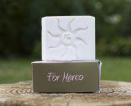 Mercano dámské toaletní mýdlo s arganovým olejem 120g přírodní For Merco