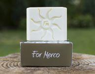 Mercano pánské toaletní mýdlo s konopným olejem -: 120 g For Merco