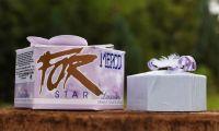 Mýdlo luxusní STAR fialové 115g