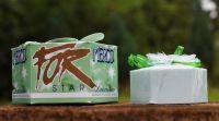Mýdlo luxusní STAR zelené 115g