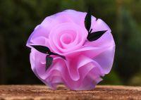 Mýdlo ručně vyráběné růžová RŮŽE 40g
