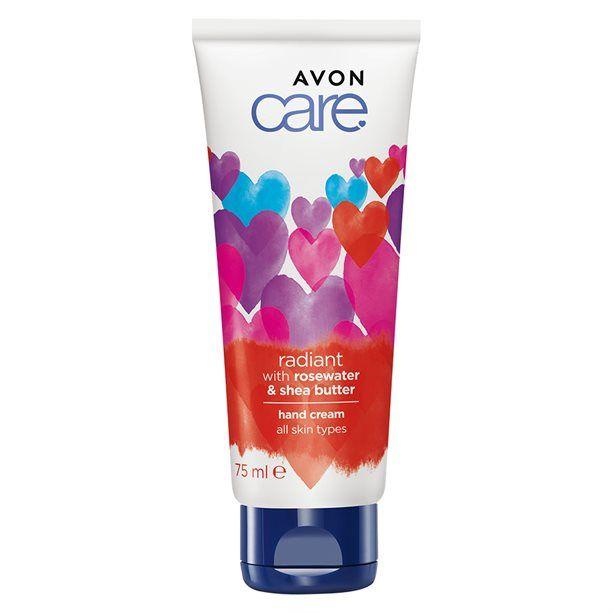 Rozjasňující krém na ruce s růžovou vodou a bambuckým máslem - limitovaná edice - : 75 ml Avon