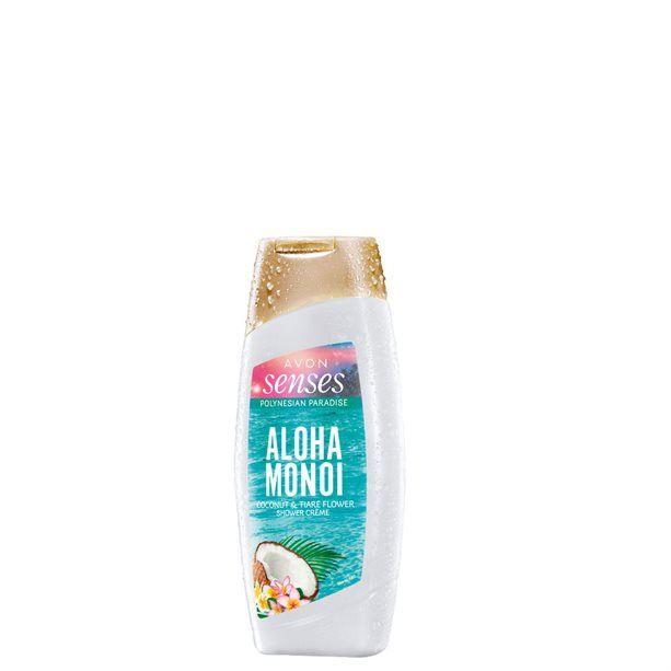 Senses Krémový sprchový gel Aloha Monoi -: 250ml Avon