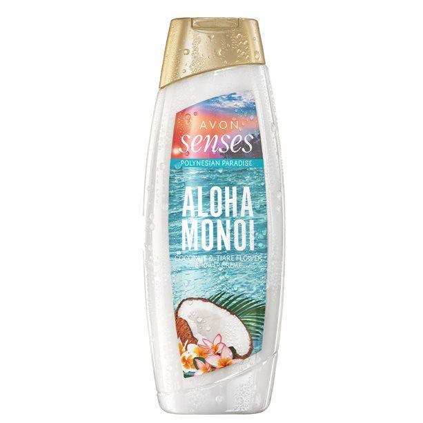 Senses Krémový sprchový gel Aloha Monoi -: 500 ml Avon