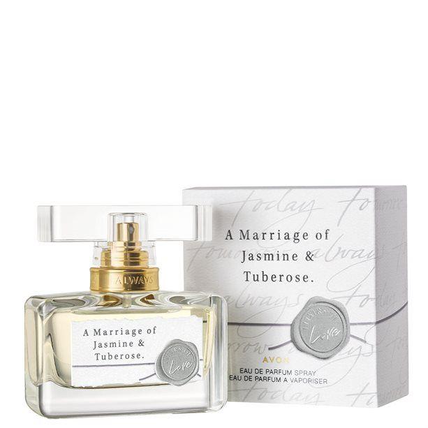 A Marriage of Jasmine & Tuberose parfémovaná voda dámská -: 30 ml Avon