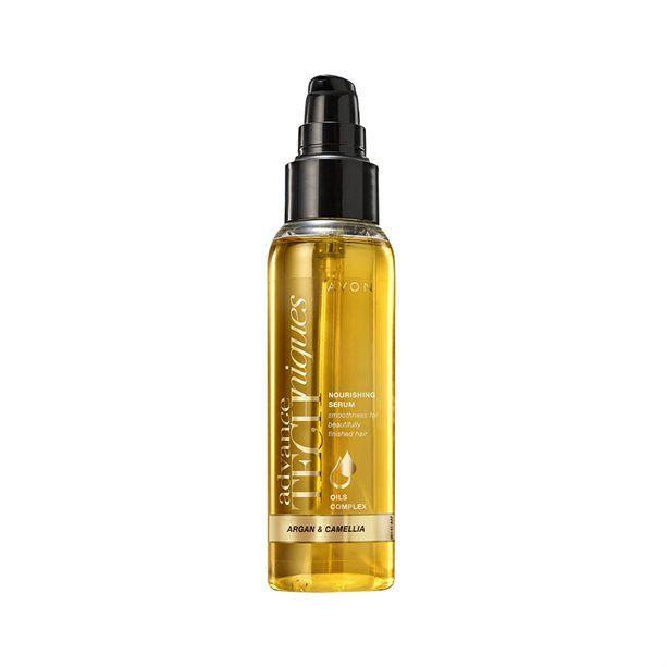 Vyživující sérum na vlasy s arganovým a kaméliovým olejem Advance Techniques (Nourishing Serum) -: 100ml Avon